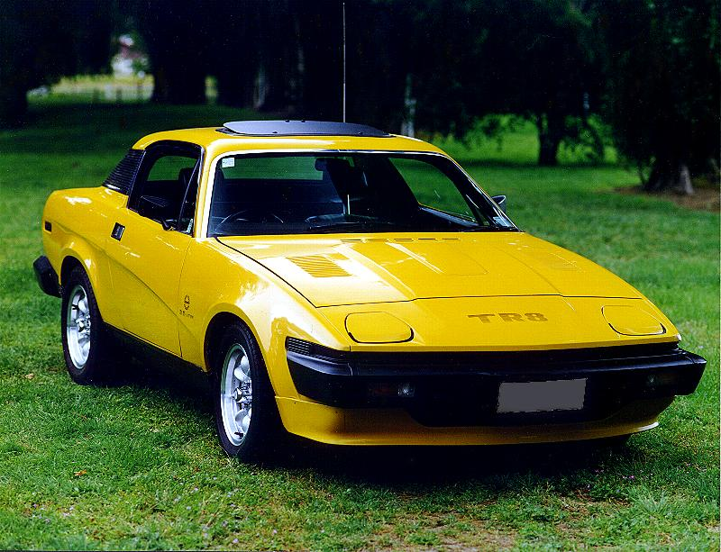 Brian S Place Cars Tr7